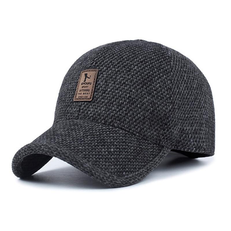 Unisex Hip Hop Snapback Dad Hat For Men Baseball Cap With Ears 2018 Winter Eearflaped Women Full Trucker Cap Tactical Hat Bonnet Шляпа