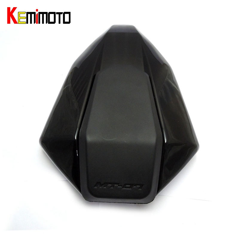 KEMiMOTO FZ07 MT07 MT 07 Rear Seat Cover Cowl for YAMAHA MT-07 FZ-07 2014 2015 2016 2017Painted Blue / Gloss Black / Carbon Look mt07 mt 07 rear seat cover cowl for yamaha mt 07 fz 07 fz07 2013 2014 2015 2016 2017 blue carbon fiber black rear seat cowl