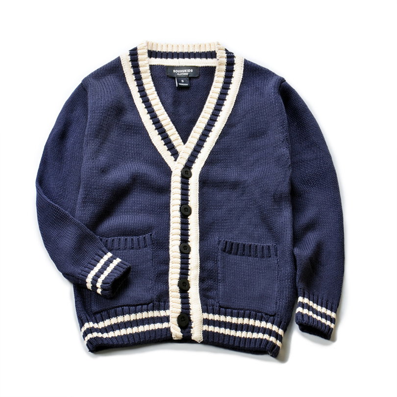 new sweater 2018 new autumn long sleeve solid baby boy cardigan single breasted casual children boys knitted sweater boy jackets casual long sleeve v neck solid color sweater