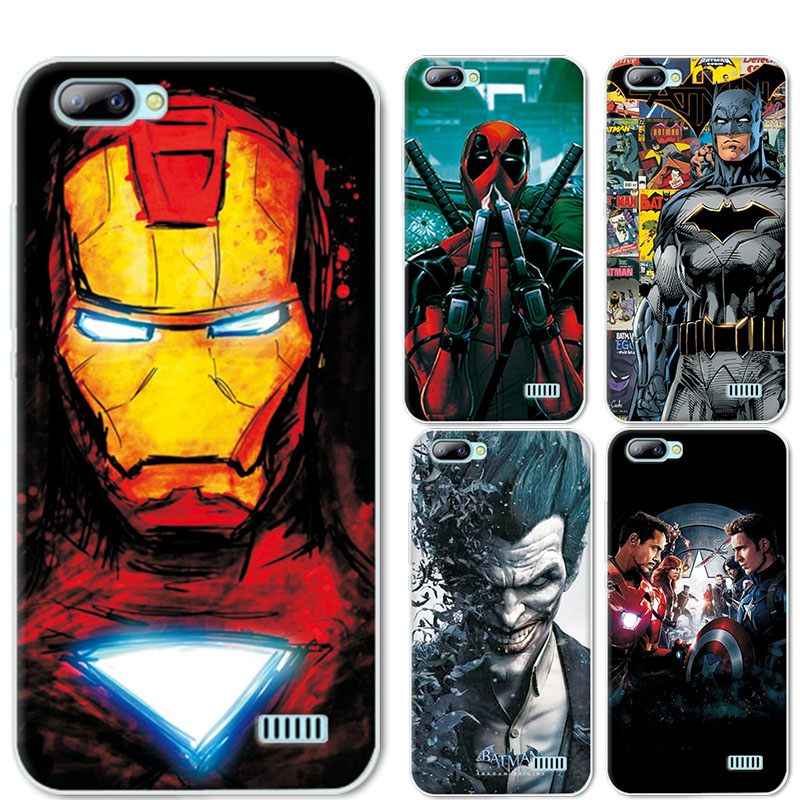 best service 8c356 f2b2d US $1.17 20% OFF|Phone Cases Cover For Blackview A7 5.0 inch For Blackview  A7 Charming America Deadpool Soft TPU Coque Funda For Blackview A7 Pro-in  ...