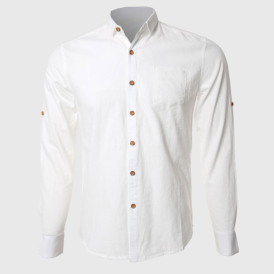Buy men white formal shirts casual cotton for White cotton work shirts