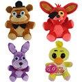 """In Stock Official Five Nights At Freddy's 4 FNAF Bonnie Foxy Freddy Fazbear Bear Plush Toys Doll 10"""" 25cm Free shipping MR006"""