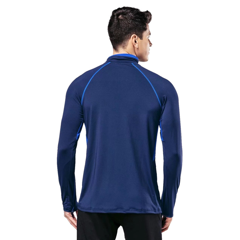 61206f293d3 2019 Running Man Fitness Clothing Long Sleeved Compression Sports ...