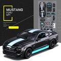 Modelo de Aleación de Coche Maisto Ford Mustang GT 1:24 Escala Diecast Coche de Metal Colección Bebé Juguetes de Regalo de Juguetes de Alta Calidad