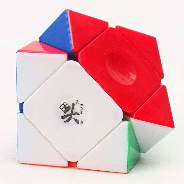 Dayan Cubo Mágico Skewb 57mm Negro blanco de Inclinación Profesional Cubo Cubo Mágico Speed Puzzle Educativos Juguete Del Niño Envío Gratis