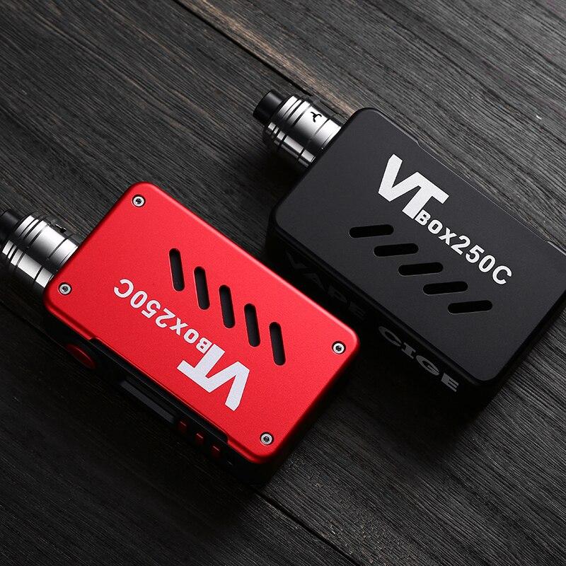 VAPECIGE ADN Boîte Mod avec Date DNA250C Puce 200 W Boîte Mod VTBOX250C pour Double 18650 batterie
