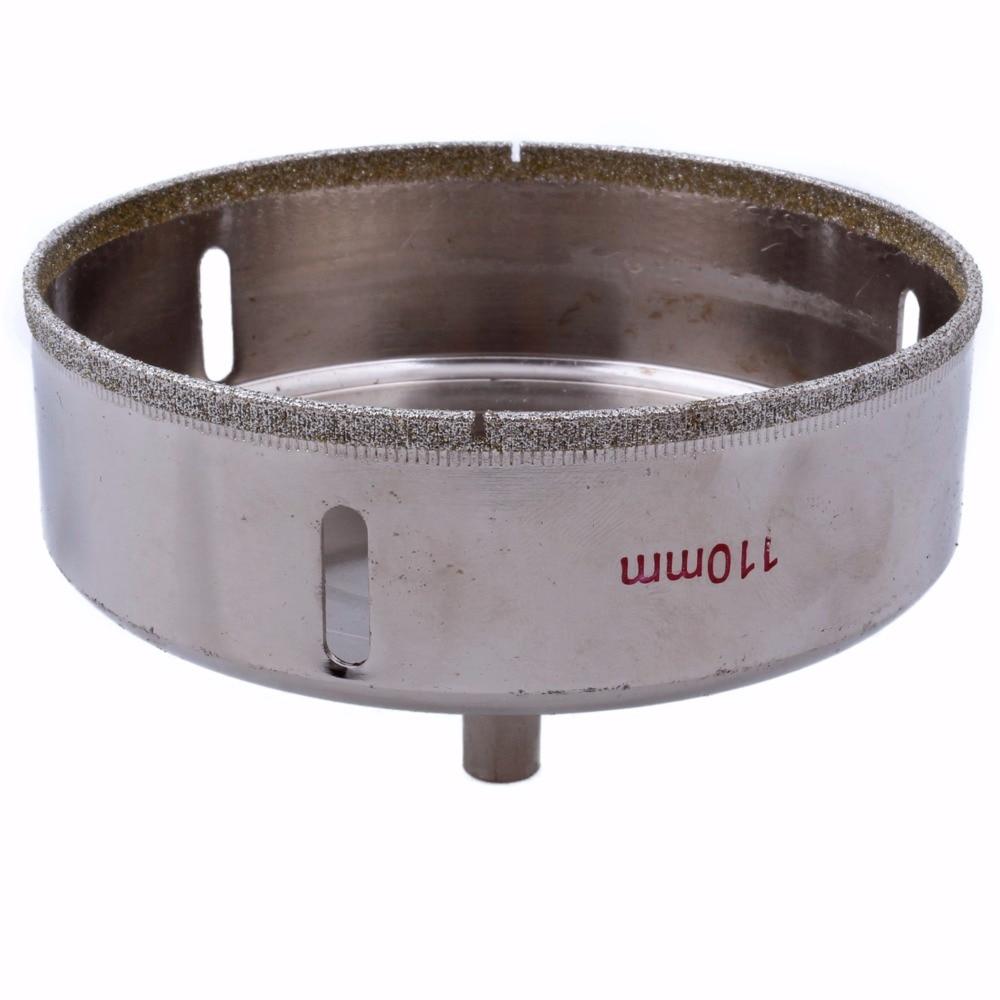 40-110 mm diamant trou vu granit foret enduit maçonnerie outils de - Foret - Photo 3