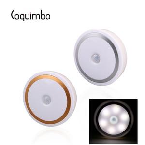 Image 2 - Coquimbo için Mıknatıs PIR Hareket Aktif Gece Lambası Hareket algılama pilli led Sopa her Yerde Işık Sensörü gardırop ışığı