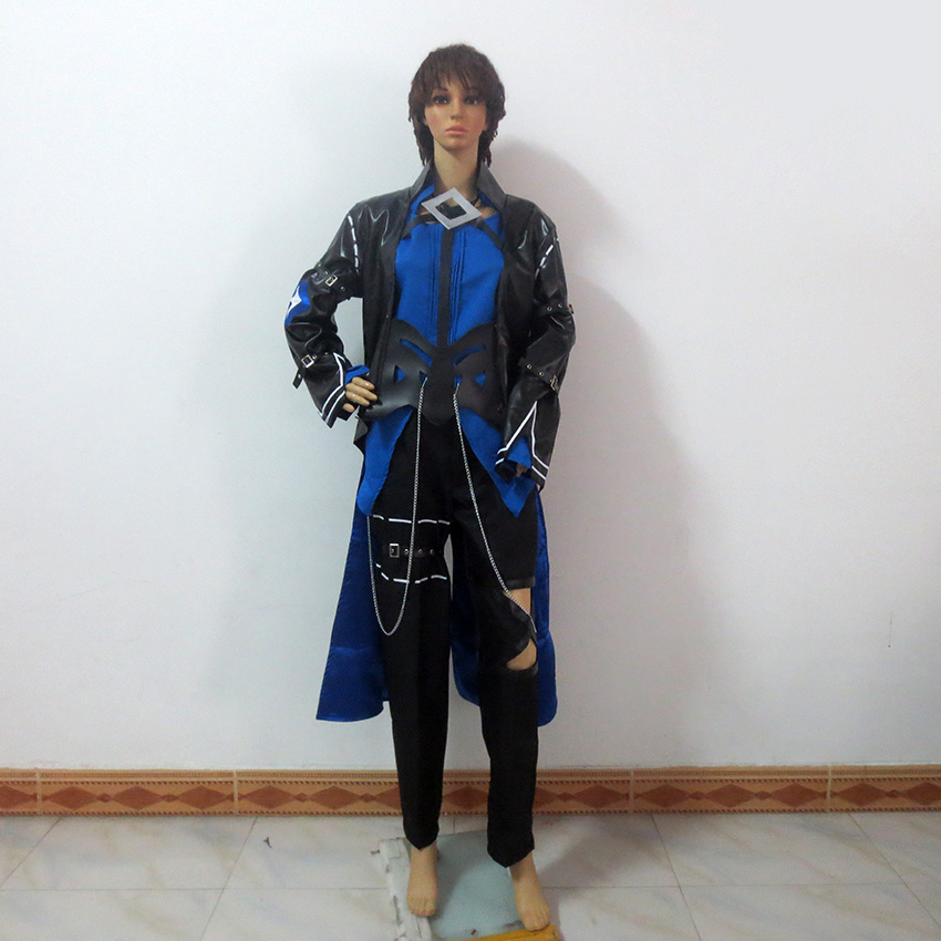Elsword Demonio Coel Ciel Christmas Party Halloween Uniform Outfit Cosplay Costume Customize Any Size