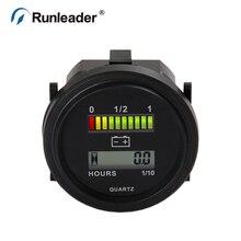 Runleader bi004 LED Батарея процент датчик Батарея счетчик моточасов 12 В 24 В 36 В 48 В 72 В метр для автомобиля клуба