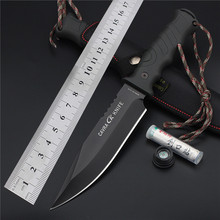 New Arrival Outdoor Self-defense Field High Hardness Saber Wilderness Survival Fruit Knife Small Straight Cutting Tool for Sharp