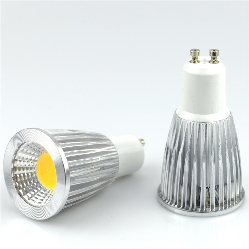 Super Bright GU10 Bulbs Light Dimmable Led Warm/White 85 265V 9W 12W ...