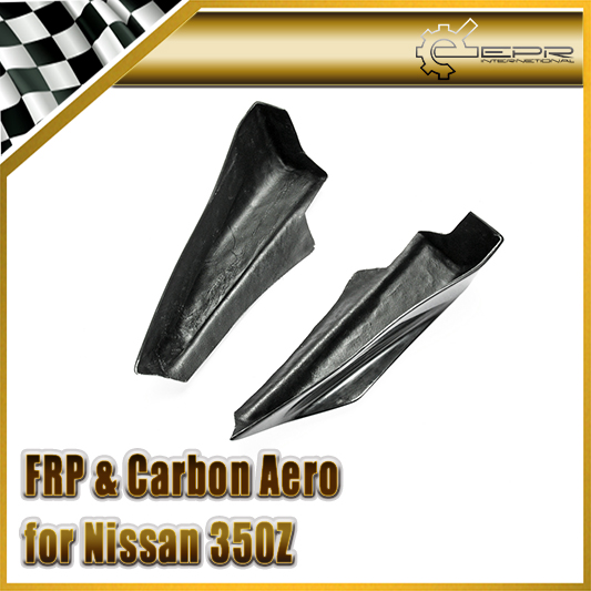 Car-styling For Nissan 350Z Nismo FRP Fiber Glass Version 1 Rear Bumper Spat In Stock