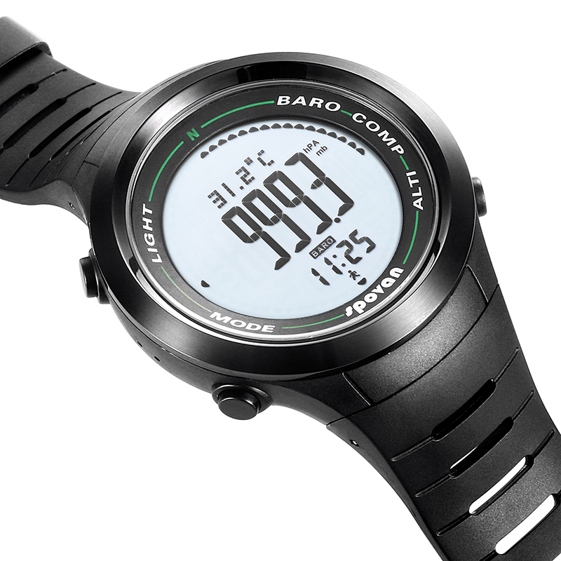 Spovan <font><b>2019</b></font> <font><b>New</b></font> Top Brand Digital Sport <font><b>Watch</b></font> Silicon Military Quality A Luxury Waterproof <font><b>Smart</b></font> Wristwatch Erkek Saat Gift Men image