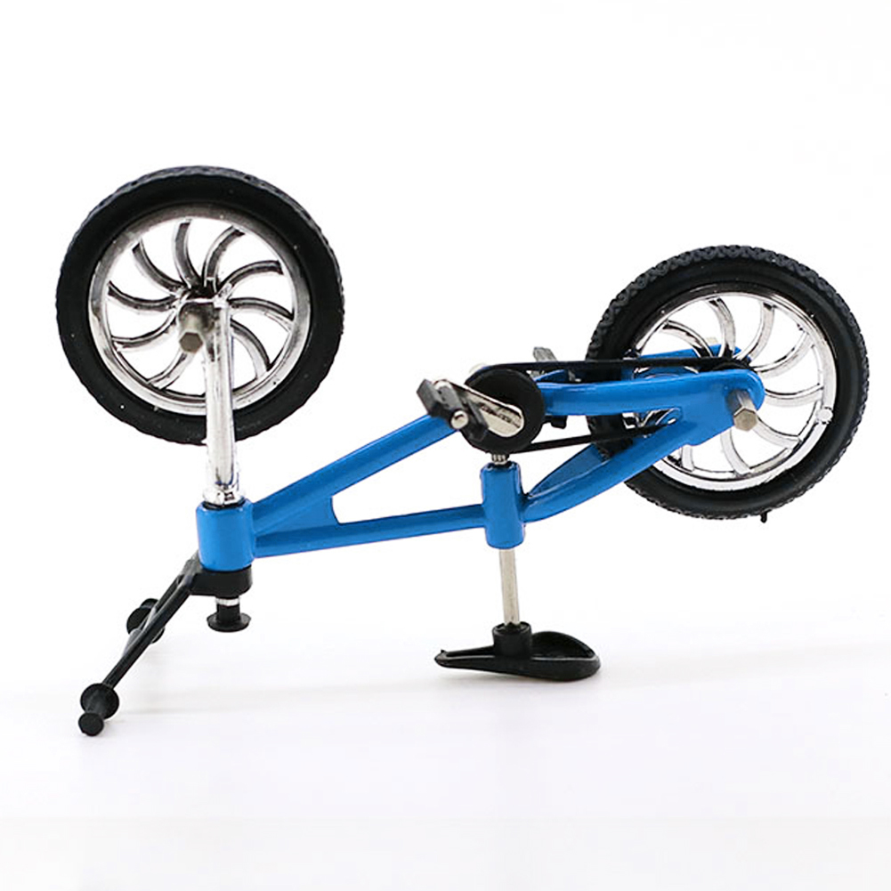 Children Toy Mini Bicycle Simulation Small Bicycle Kid Early Education  1:10 RC Crawler Decor Accessory Bike Model Toy #2