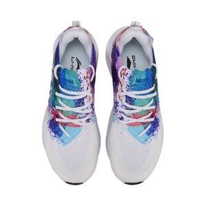 Image 5 - Li ning נשים LN קשת כרית נעלי ריצה לנשימה סניקרס מונו חוט רירית לביש ספורט נעלי ARHP108 SJAS19