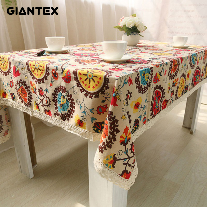Online Buy Wholesale bohemian tablecloth from China bohemian