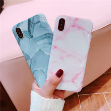 Simple marble tpu case for iphone X 7 7Plus Stone image painted Soft TPU Case for iphone 6 6s 6Plus 8 8plus back cover