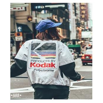 Women Men baseball Clothing outerwear Japanese style MA1 bomber jacket Harajuku pilot Harajuku street printing Jacket