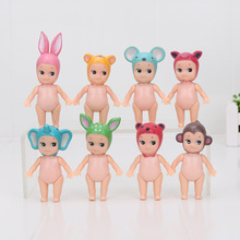 8cm 8pcs/set Kewpie Doll Mini Laduree Sonny Angel Dolls PVC Action Figure Collectible Model Toy Dolls Kids Christmas Gifts