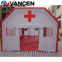 Больницы надувная кубическая палатка ткань Оксфорд 10 мл гигантские надувные палатки для первой помощи надувные медицинская палатка для пр