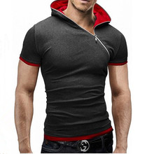 Neue männer Oberseiten-stück 2016 Sommer Cotton V-ausschnitt Short hülse T-shirt Männer Fashion Solid Dünnes T Shirts herren