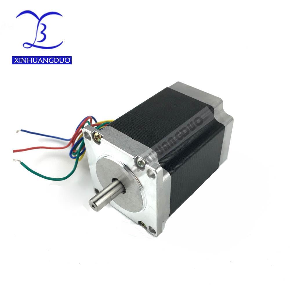 Frete grátis 1 PCS, 2 fase, 18 4-Leads 18.9kgcm 23 76 milímetros CNC Nema Motor de Passo, Impressora 3D 23HS8430 57 42BYGH