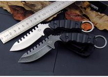 High quality 58HRC 8Cr13MOV blade G10 handle karambit knife camping Hunting Survival  Tactical knives EDC Multi tools+K sheath