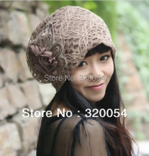 цены на Free shipping,1pcs,2013 new turban caps,South Korea's version of autumn winter Beanies women hats, Polyester,4 color,retail.  в интернет-магазинах