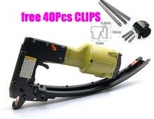 空気圧ネイルガンクリンチクリップ銃春ツール CL-72 マットレス爪銃クリップツールクリンチツールのためのケージ固定 M66