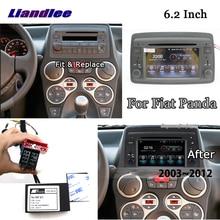 Liandlee 6,2 дюймов Android 8,0 для Fiat Panda 2003~ 2012 стерео видео Wifi dvd-плеер Carplay карта gps Navi навигация Мультимедиа