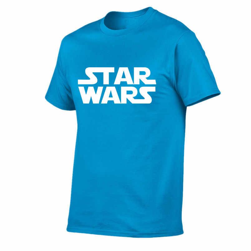 Erkekler 2018 Yaz varış Film erkekler t gömlek Star Wars tasarım moda erkek kısa kollu doktor tee T-shirt rahat hipster Tops