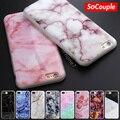 2016 nueva llegada matorrales imagen de piedra de mármol pintado tpu soft case para iphone 7 5 5s se 6 6 s 6 plus 7 plus case de silicona teléfono