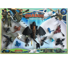 New 923cm How to Train Your Dragon Toothless toys Action figure Fury Toys For Childrens Birthday Gifts hobby