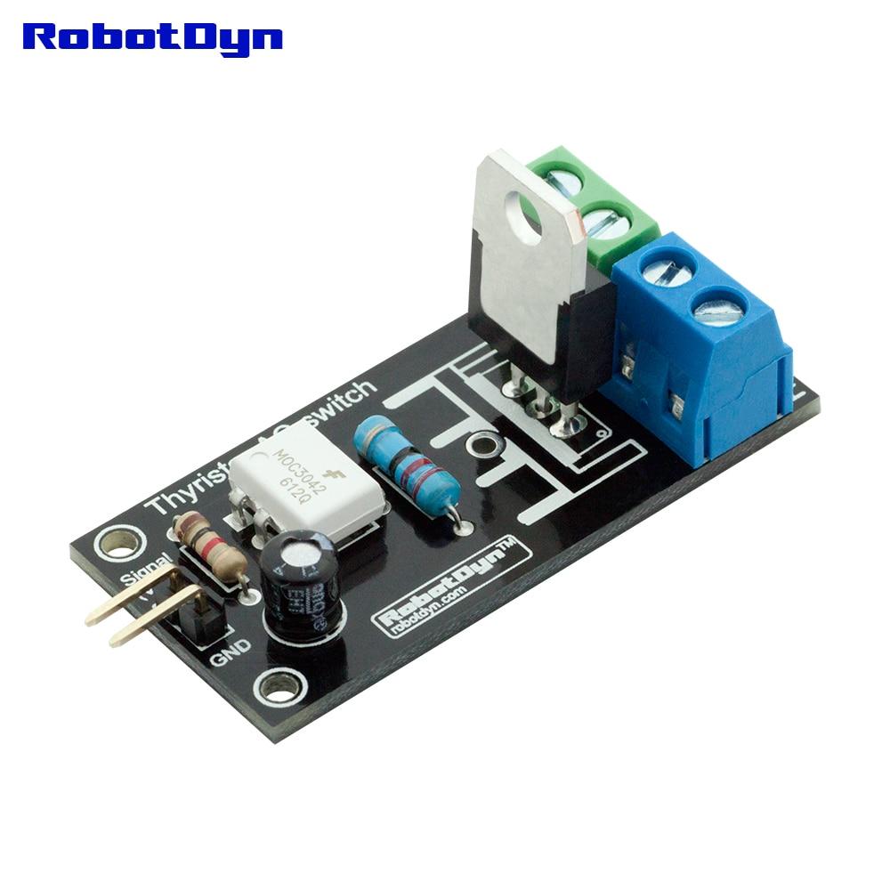 Thyristor AC Switch (relay), 3.3V/5V Logic, AC 220V/5A (peak 10A)