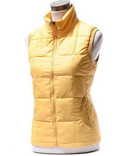 Free shipping Autumn women's fashion cotton vest collar warm down vest women warm cotton jacket large size factory outlets