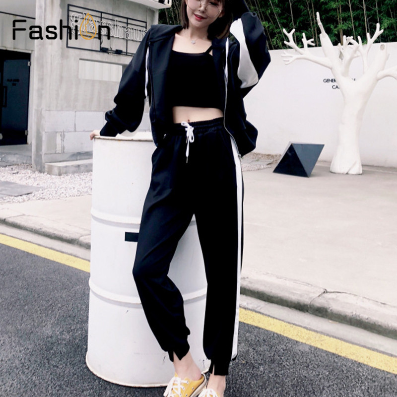 Women Hooded and Long Pants Sets Full Sleeve Tracksuit Sexy Spring Autumn Ladies Outfit Two Piece Set Sportswear Sweat Suit 6