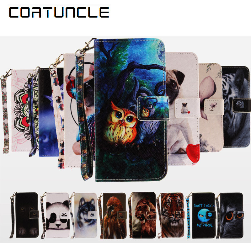 Camera & Photo Fkissme Flower Tree Butterfly Owl Flip Pu Leather Case For Samsung Galaxy S7 Edge S6 S5 Phone Cases Wallet Cover Coque Fundas