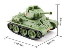 Tamiya-Kit de construcción de tanque de Guerra Mundial, Kit de construcción de tanque medio soviético, tanque militar artesanal, T34/76