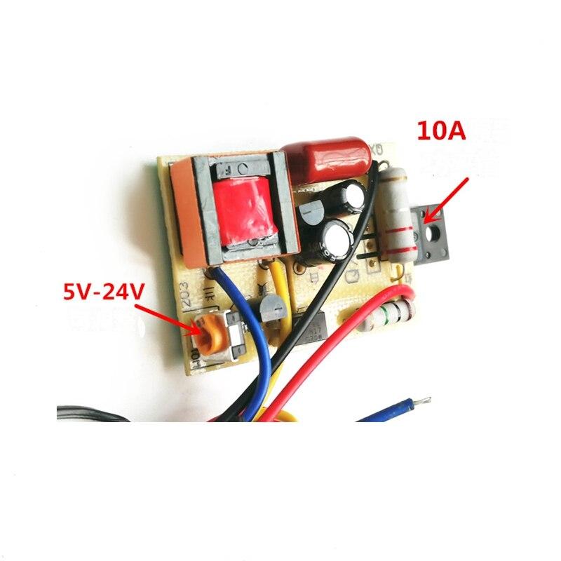 5 шт. DC выборки 14-60 дюймов ЖК-дисплей ТВ переключение Питание модуль универсальный приемник EVD Питание