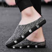 Marlisasa Zapatos Hombre Male Fashion Plus Size Black Slip on Shoes Men Casual High Quality Spring Shoes Summer Shoes F5025