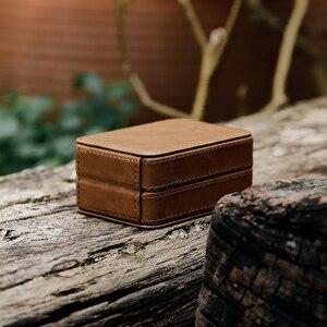 Image 3 - SHANLING C2 Handmade Custom Leather Storage Box for ME100 Earphones Portable Pressure Box