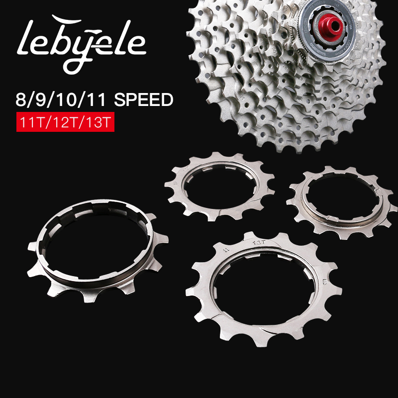 Bicycle <font><b>Cassette</b></font> Cog Road Bike MTB 8 9 10 <font><b>11</b></font> <font><b>Speed</b></font> 11T 12T 13T Freewheel Parts for SHIMANO <font><b>SRAM</b></font> universal cycling accessories image