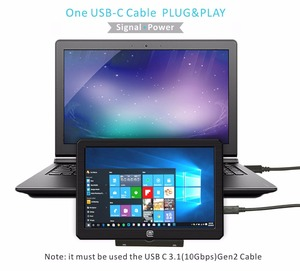 Image 2 - Portable HDR Gaming Monitor 8.9 Inch 1920*1200 IPS QHD LCD Display USB Powered for Xbox,PS4,PS3,Raspberry Pi And  Mini PC(089A)