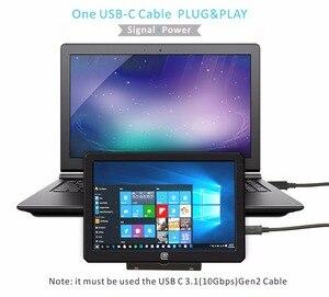 Image 2 - Przenośny HDR monitor gamingowy 8.9 Cal 1920*1200 IPS QHD wyświetlacz LCD USB zasilany na Xbox, PS4, PS3, Raspberry Pi, a mini PC (089A)
