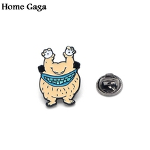 D0395 Homegaga Hopesick Monsters Enamel Brooches Pins Pendant for DIY Sweater Pin Badges Gift Jewelry Men Women Girl Kids