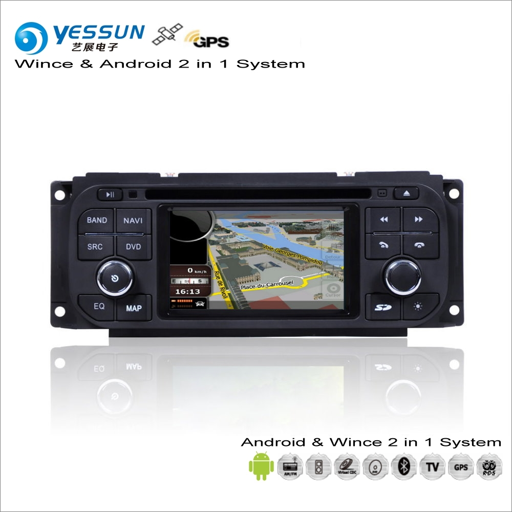YESSUN For Dodge Durango / Stratus / Dakota 2001~2003 Car Android Stereo Radio CD DVD Player GPS Navi Map Navigation Audio Video цена