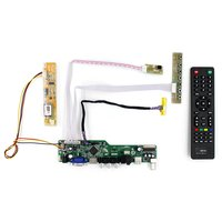 TV HDMI VGA AV USB AUDIO LCD Controller Board Work For 1280x800 30Pin Lcd Panel