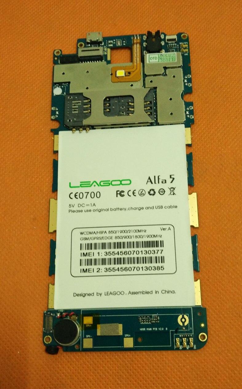 Used Original mainboard 1G RAM+8G ROM Motherboard for Leagoo Alfa 5 SP7731 Quad Core 5.0 HD Free Shipping