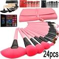 2016 professional makeup brushes 24 Pcs Cosmetic Makeup Brush tools /Foundation eyebrow Brushes for make up set cosmetic kit